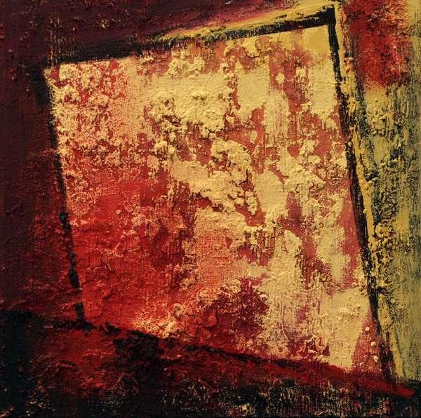 Serie : Strukturen mit rot  4