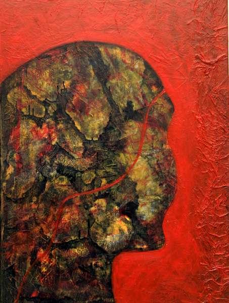 Serie: Strukturen mit rot  2