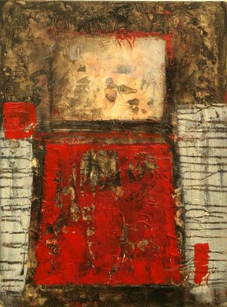 Serie: Strukturen mit rot 1